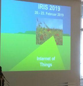 Die IRIS 2019 findet statt vom 20.-23. Februar 2019. Thema ist Internet of Things (IoT).